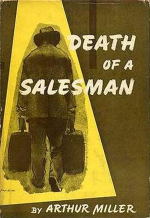 Death of a Salesman - First edition cover (Viking Press)
