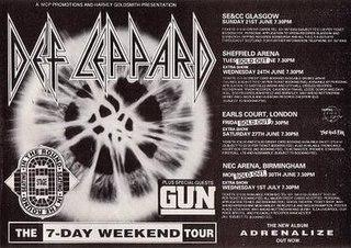 Adrenalize World Tour