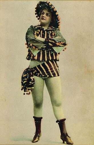 Della Fox - Fox, possibly costumed for Panjandrum, ca. 1893