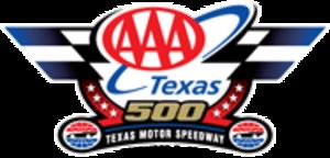 AAA Texas 500 - Image: Dickies 500 race logo