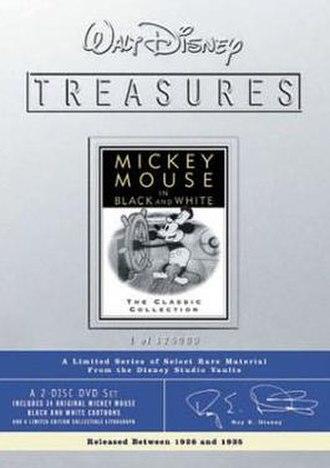 Walt Disney Treasures: Wave Two - Image: Disney Treasures 02 mickeyb&w