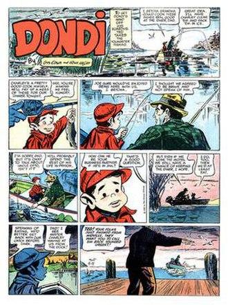Dondi - Irwin Hasen and Gus Edson's Dondi (April 15, 1962)