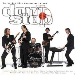 Don't Stop (Status Quo album) - Image: Dont Stop Status Quo
