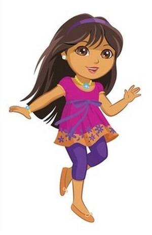 Dora the Explorer - Dora the Explorer as a tween, as seen after being revealed in 2009.
