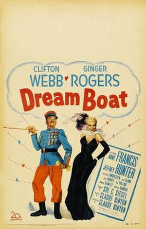Dreamboat (film) - Image: Dreamboat Film Poster