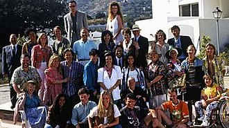 Eldorado (TV series) - A photo of all characters who first appeared in Eldorado in 1992.