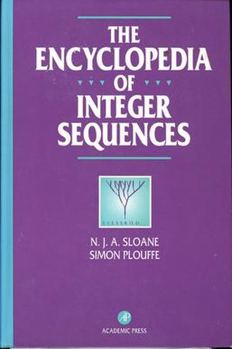 On-Line Encyclopedia of Integer Sequences - Second edition of the book