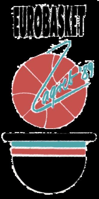 EuroBasket 1989 - Image: Euro Basket 1989 logo