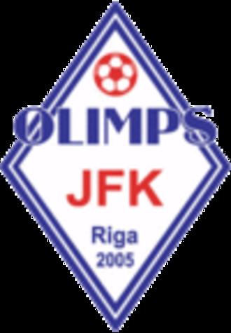 JFK Olimps - JFK Olimps logo, 2005–09