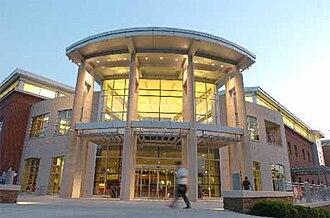 Fayetteville Public Library - Fayetteville Public Library main entrance