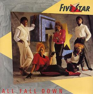 All Fall Down (Five Star song) - Image: Five Star All Fall Down 297952