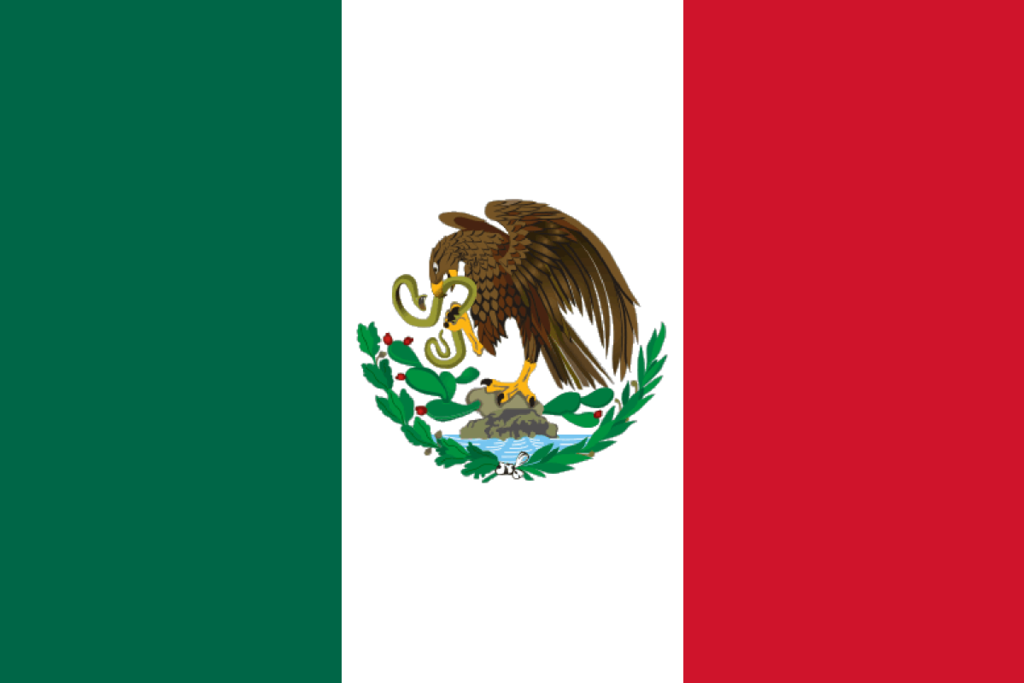 Image result for mexico flags png