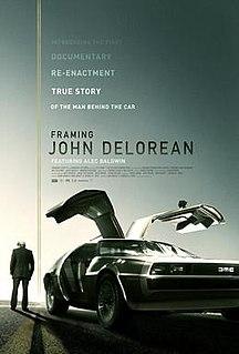 <i>Framing John DeLorean</i> 2019 documentary