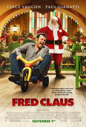 Fred Claus - Theatrical release poster