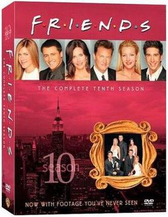 Friends (season 10) - Image: Friends Season 10 DVD