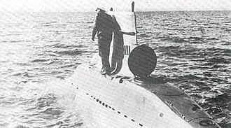 German submarine V-80 - Image: German v 80 midget submarine 1