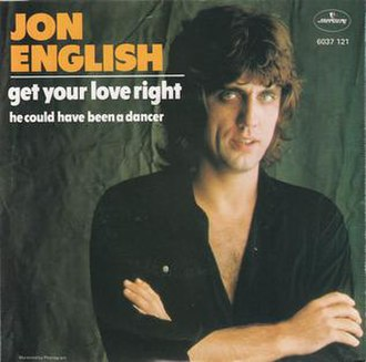 Get Your Love Right - Image: Get Your Love Right by Jon English