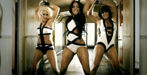 Maniac (Girlicious song) - Girlicious dancing in the music video.