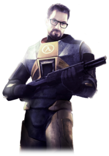 Gordon Freeman Video game protagonist of the Half-Life series