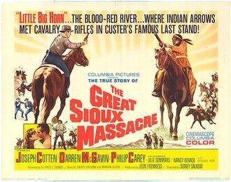 The Great Sioux Massacre - Original film poster