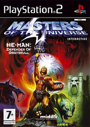 He-Man: Defender of Grayskull - Cover art