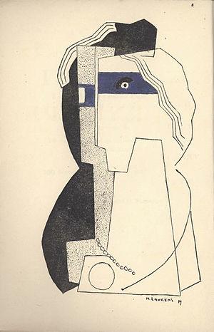 Henri Laurens - Image: Henri Laurens, Céline Arnauld, Tournevire, 1919
