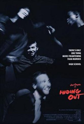 Hiding Out - Theatrical release poster