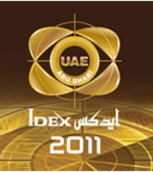 International Defence Exhibition - Image: IDEX 2011 Logo