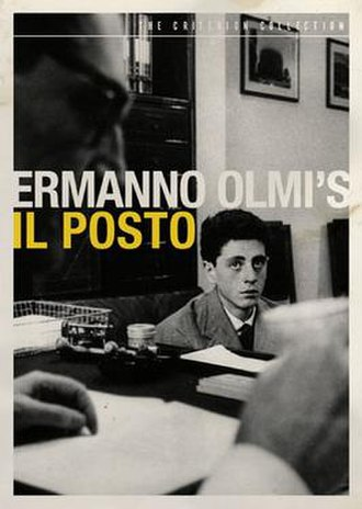 Il Posto - DVD Cover