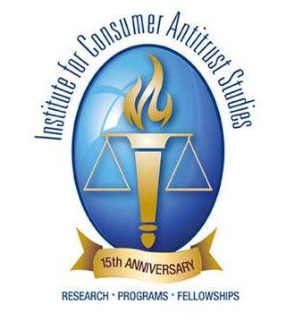 Institute for Consumer Antitrust Studies - Image: Instititute for Consumer Antitrust Studies Logo