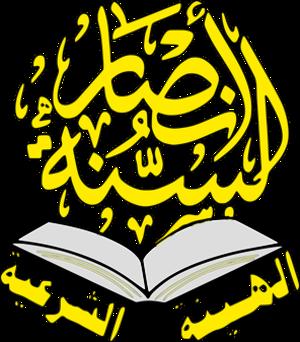 Jamaat Ansar al-Sunna - Image: Jama'at Ansar al Sunna logo