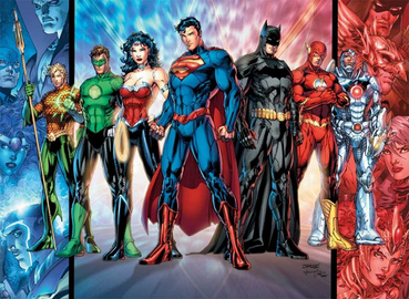 Justice League - The New 52 (Jim Lee's art)