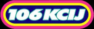 KLNQ - Station's logo from 2009 until February 4, 2013