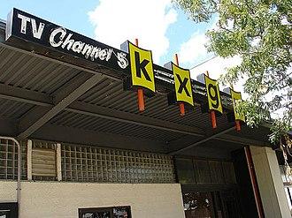 KXGN-TV - KXGN-TV's studios along South Douglas Street in Downtown Glendive, MT.