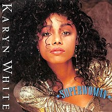 Karyn White — Superwoman (studio acapella)