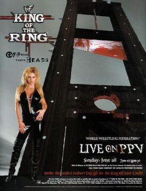 King of the Ring (1998) - Promotional poster featuring Sable