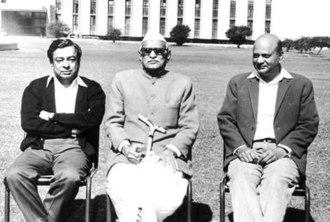 Verghese Kurien - Image: Kurien, Tribhuvandas & Dalaya
