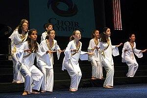 Li-Ron Choir - Li-Ron Choir at the Choir Olympics