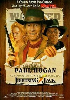 Lightning Jack - Theatrical release poster