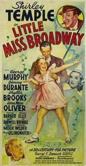 Little Miss Broadway - Film poster