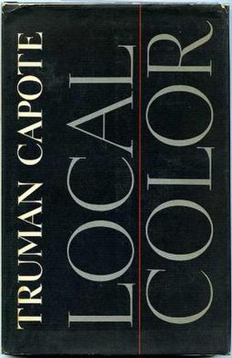 Local Color (book) - First edition cover