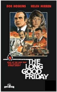 <i>The Long Good Friday</i> 1980 British gangster film directed by John Mackenzie