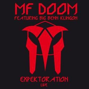 Expektoration - Image: MF DOOM Expektoration