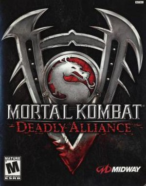 Mortal Kombat: Deadly Alliance - Image: MKD Acover