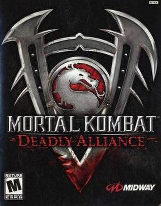 Mortal Kombat: Deadly Alliance - Image: MKD Acover