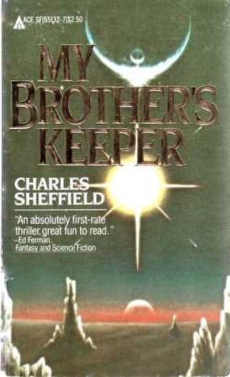 My Brother's Keeper (Sheffield novel) - Cover of first edition