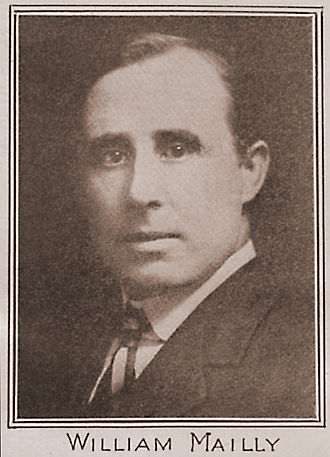 William Mailly - Will Mailly was an early National Executive Secretary of the Socialist Party of America.