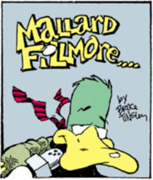 Mallard Fillmore - Image: Mallard Fillmore title panel
