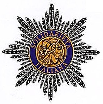 Order of the Star of Italian Solidarity - Image: Med placca