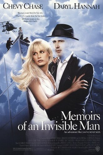Memoirs of an Invisible Man (film) - Theatrical release poster